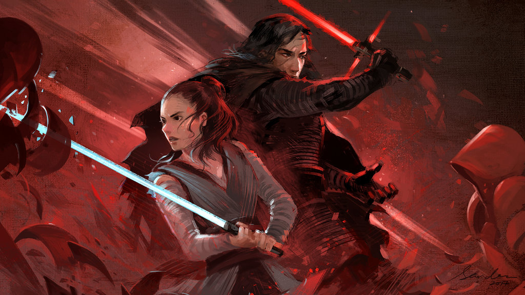 Rey And Kylo Ren Wallpapers For Tech