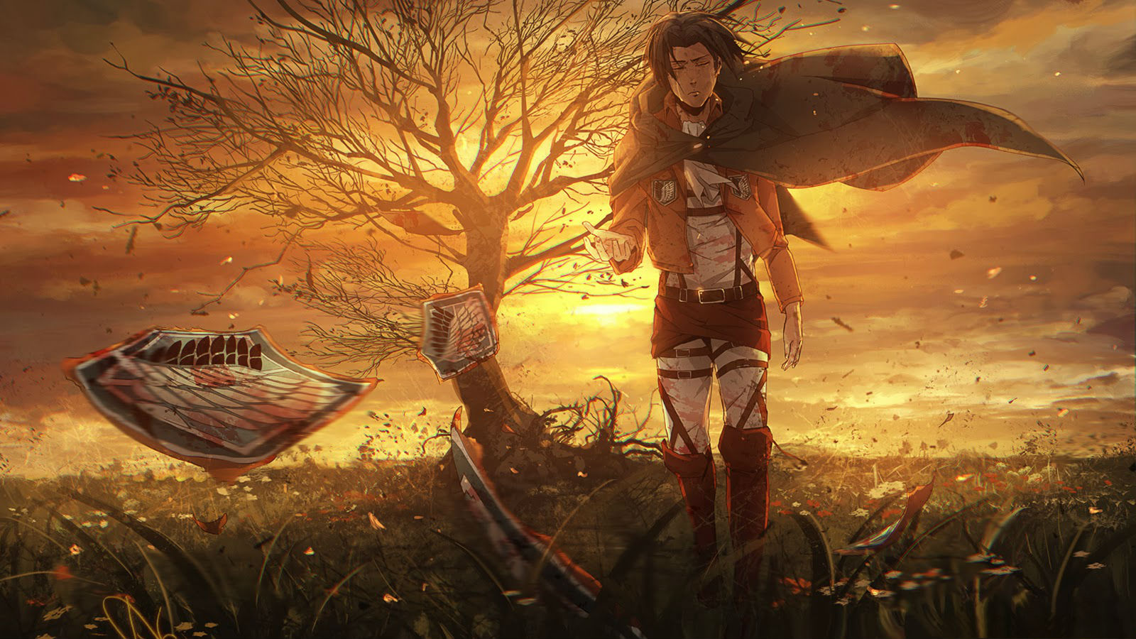 Sizing also makes later remov. Attack on Titan wallpaper 12