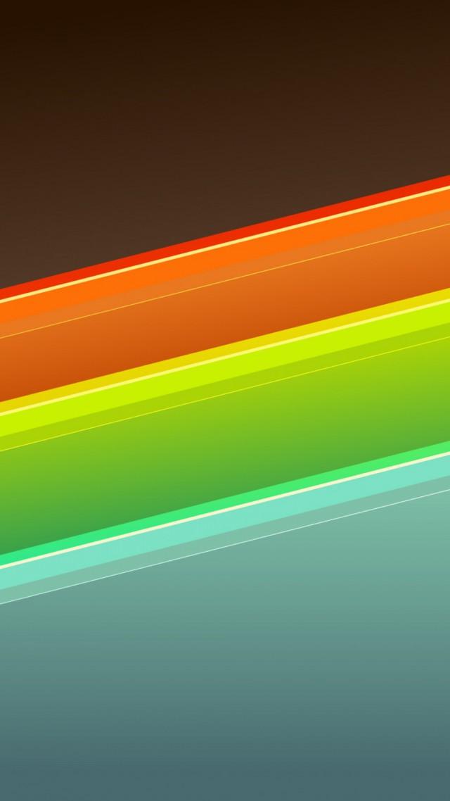 Diamond Background Orange 4k