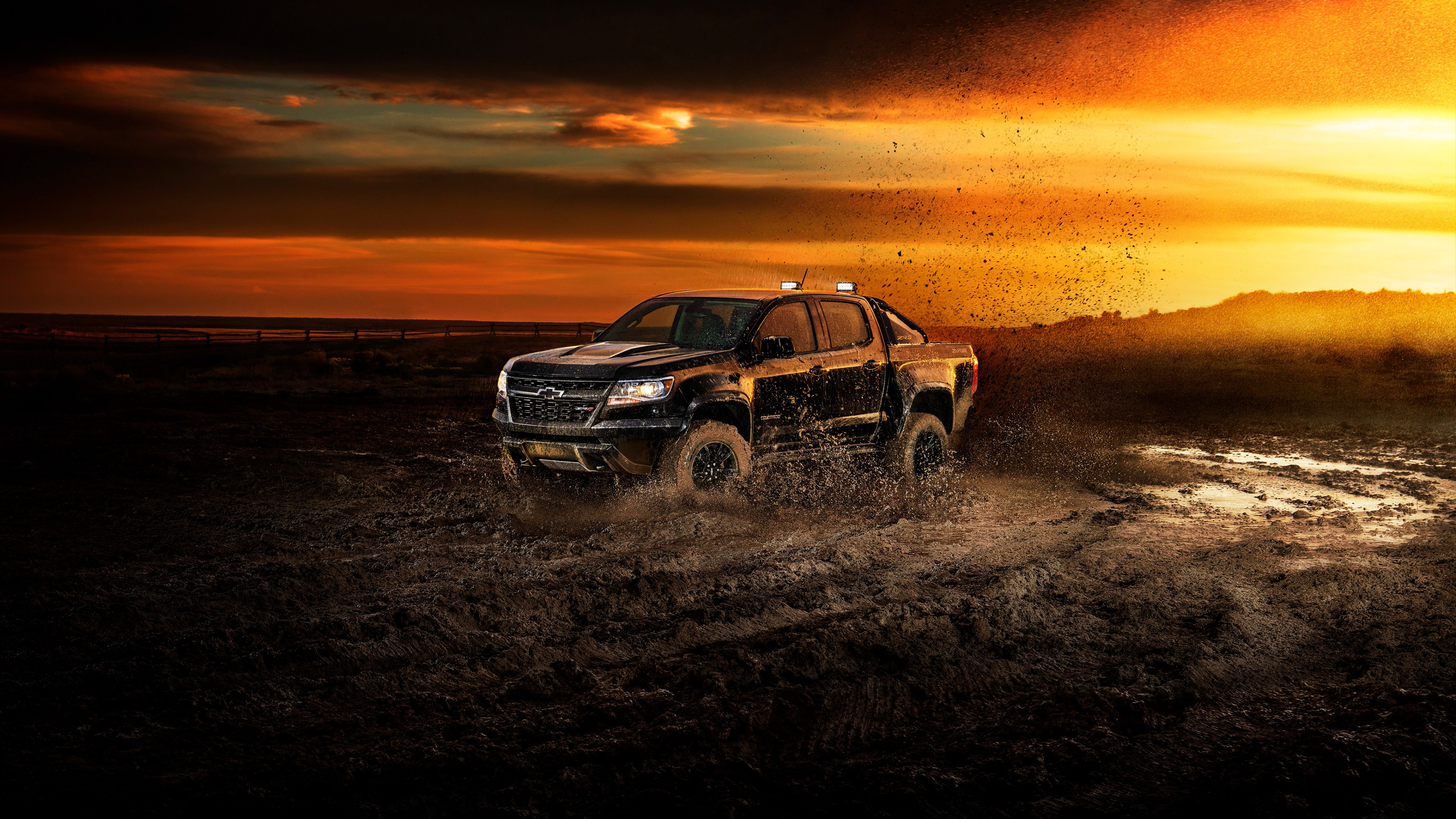 Wallpaper Chevrolet Colorado Zr2 2018 Cars 4k Cars