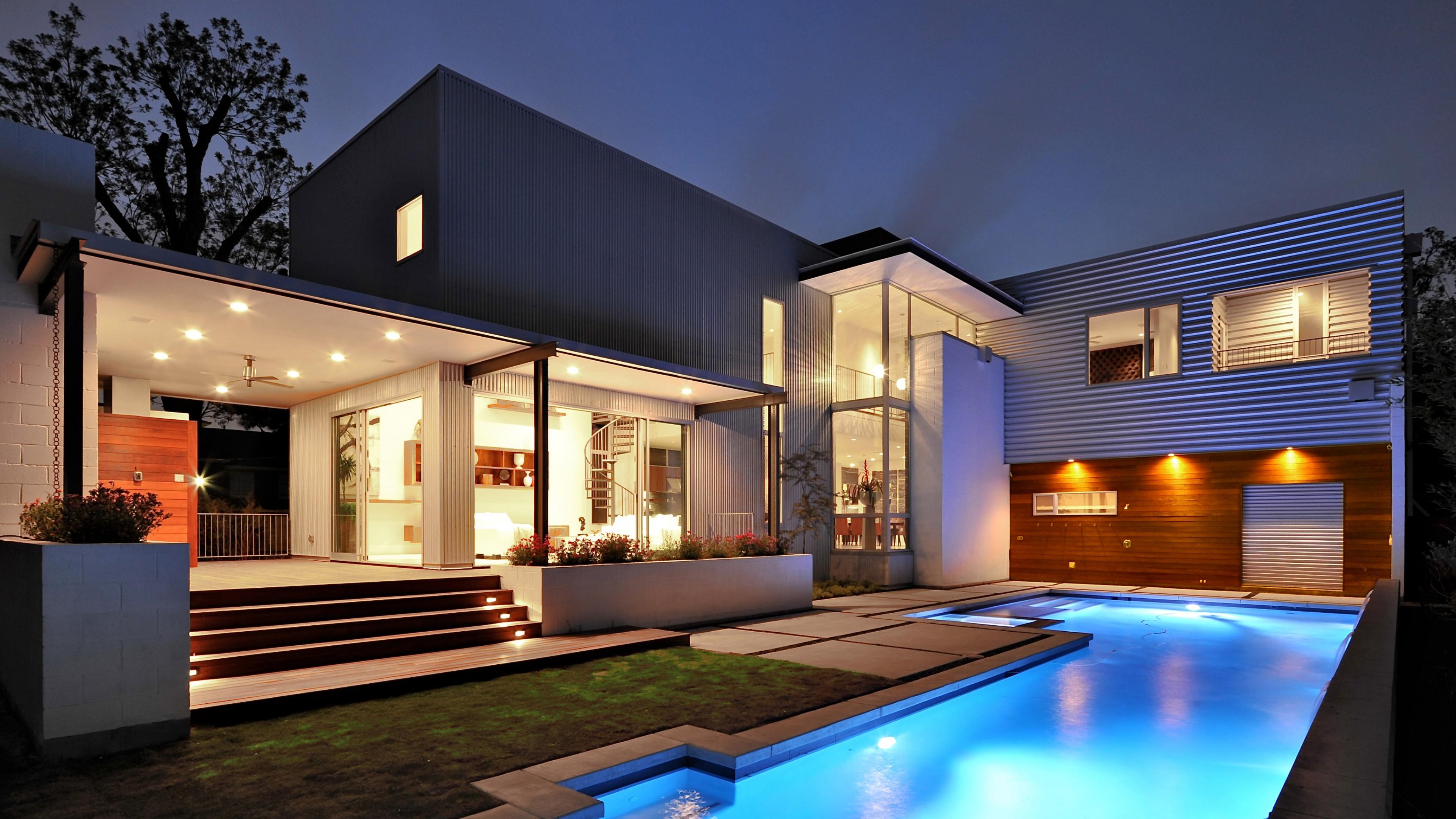 Wallpaper House, Mansion, pool, modern, interior, High ... on Modern:szae7Exnfpq= Amazing Houses  id=97431