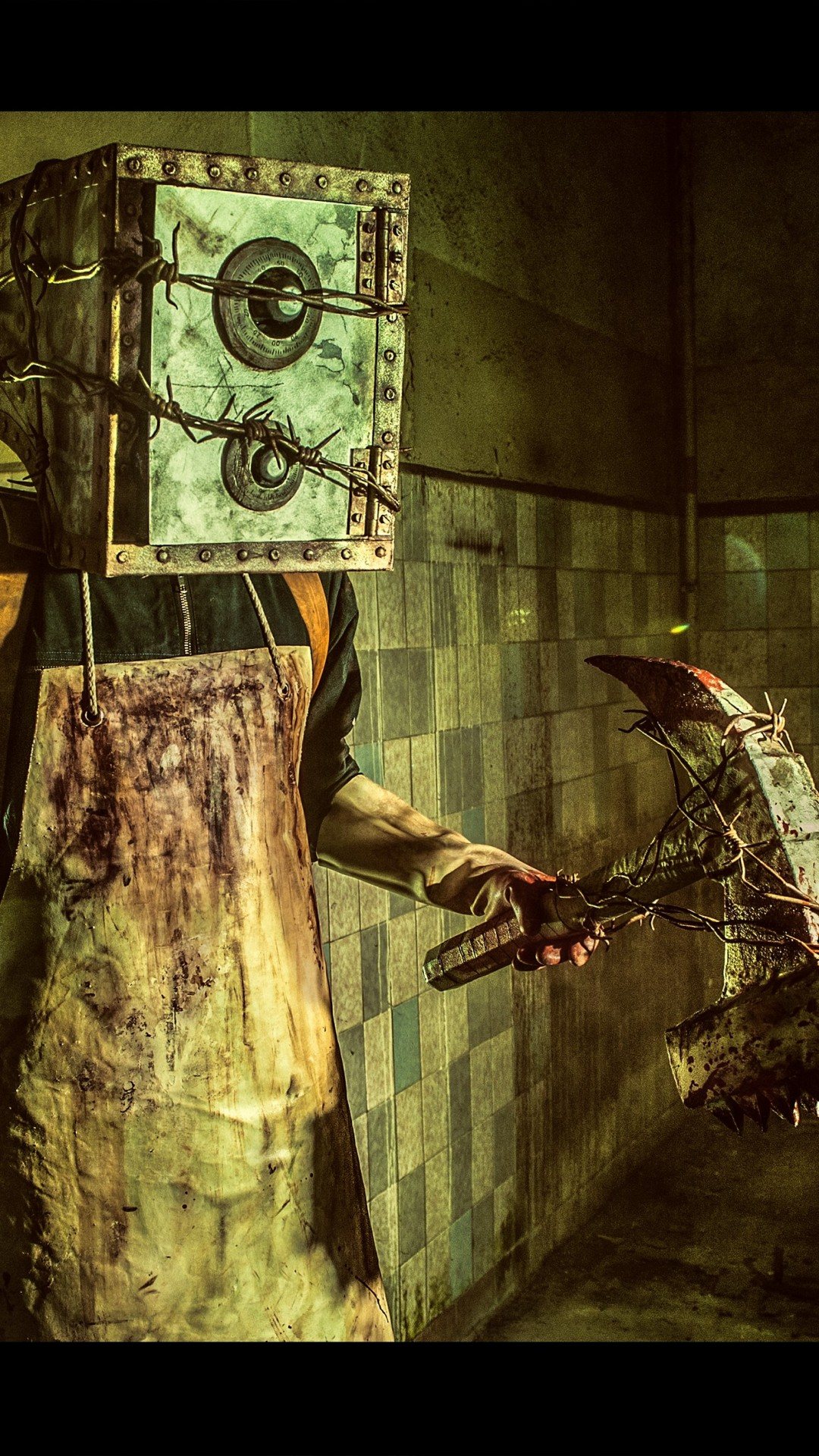 Wallpaper The Evil Within Game Survival Horror Evil Within The Keeper Boxman Axe Monster