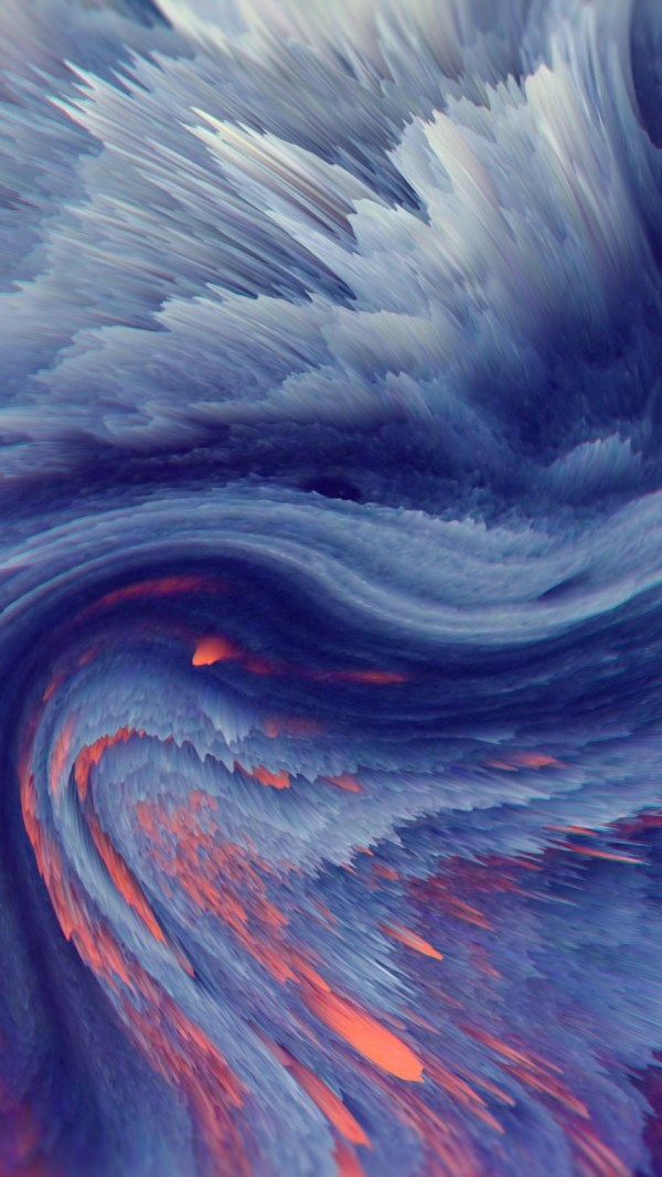 Wallpaper waves, HD, Abstract #15377