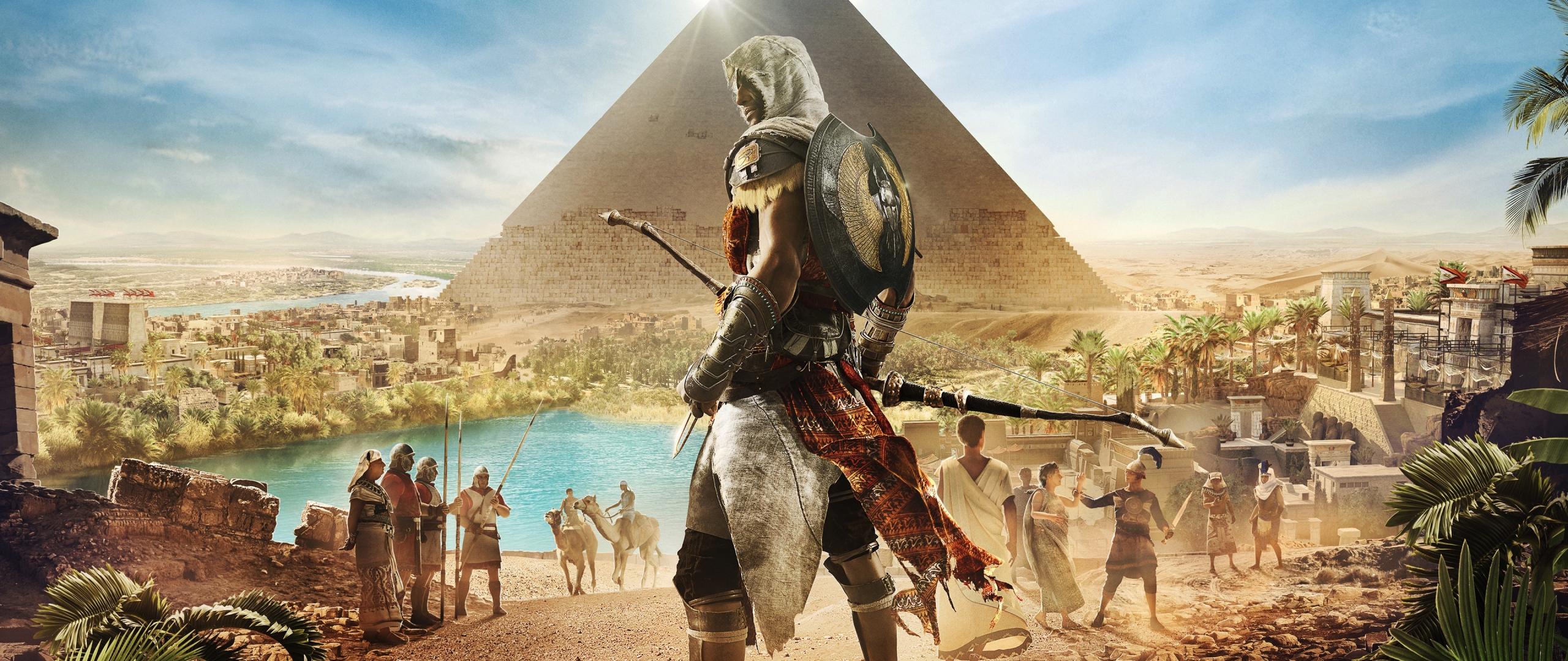 Download 2560x1080 Wallpaper Assassins Creed Origins