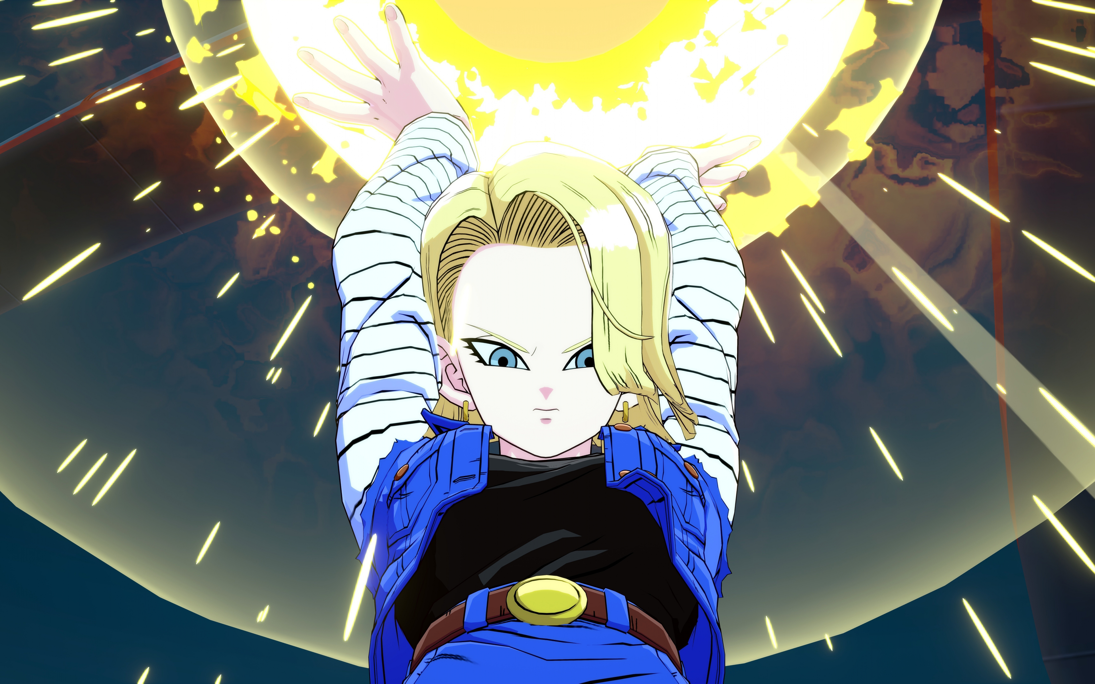 71 listings of hd dragon ball super 4k wallpaper picture for desktop, tablet & mobile device. Download 3840x2400 wallpaper android 18, dragon ball ...