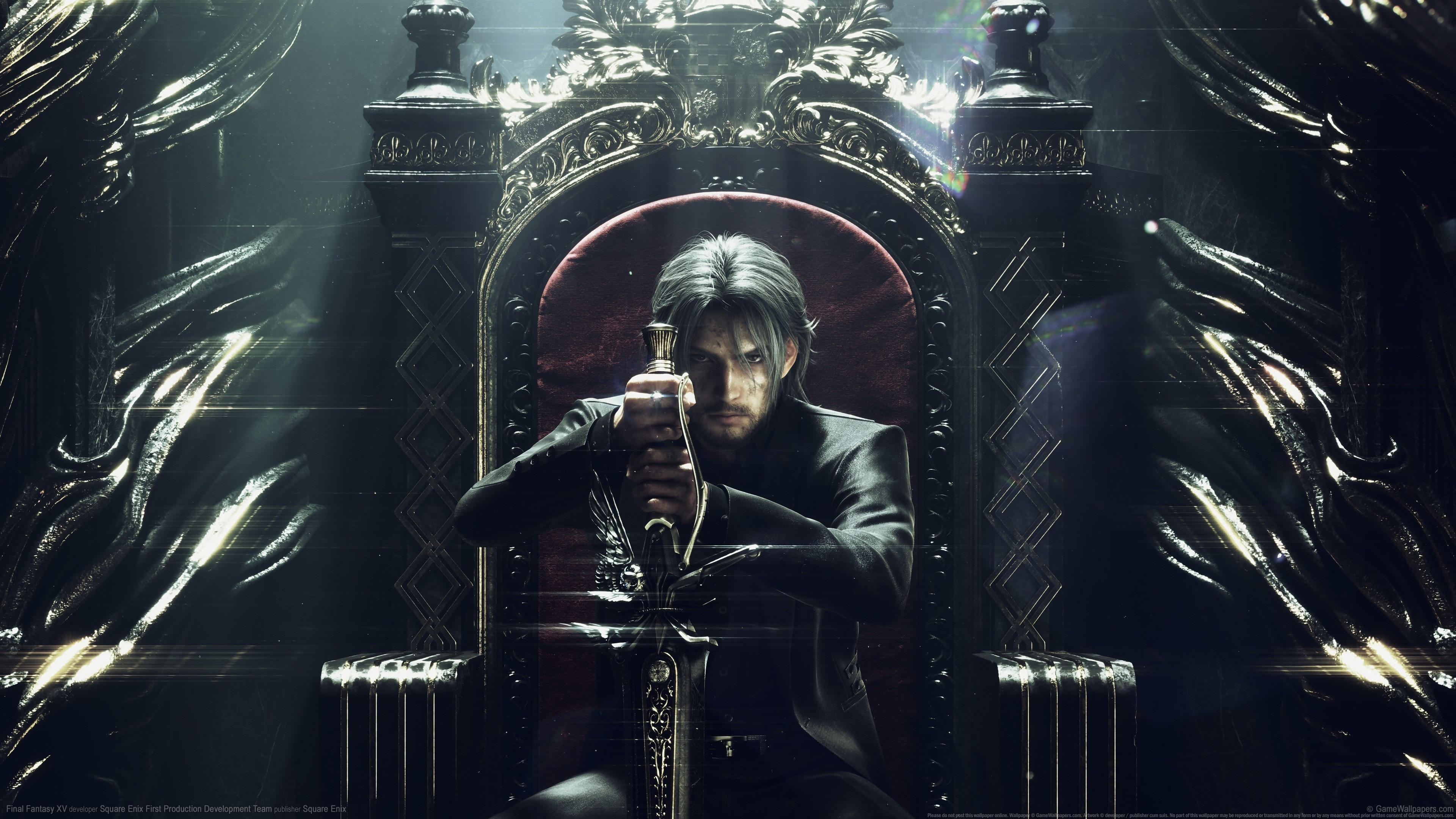 Download 3840x2400 Wallpaper Final Fantasy Noctis Video