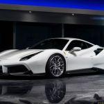 Desktop Wallpaper White Vossen Javs Ferrari 488 Sports Car Hd Image Picture Background 68b0b2