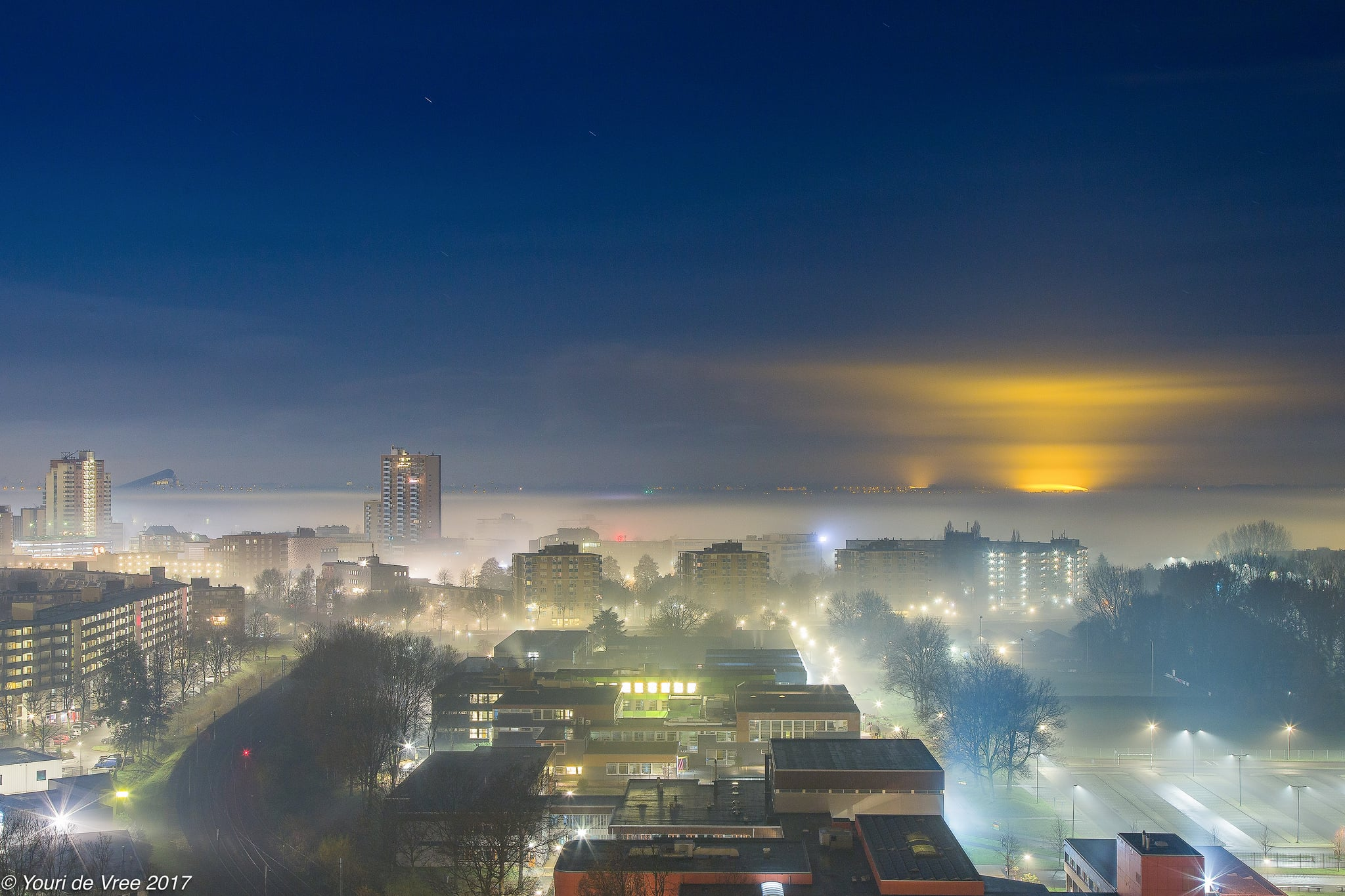 6 Landscapes In The Fog Ducks Scotland Night City Two