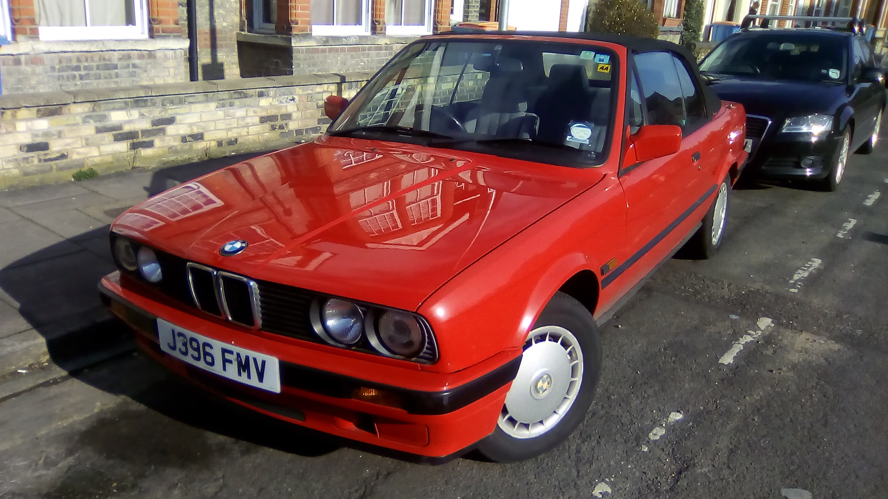 Convertible Red M3 Bmw All