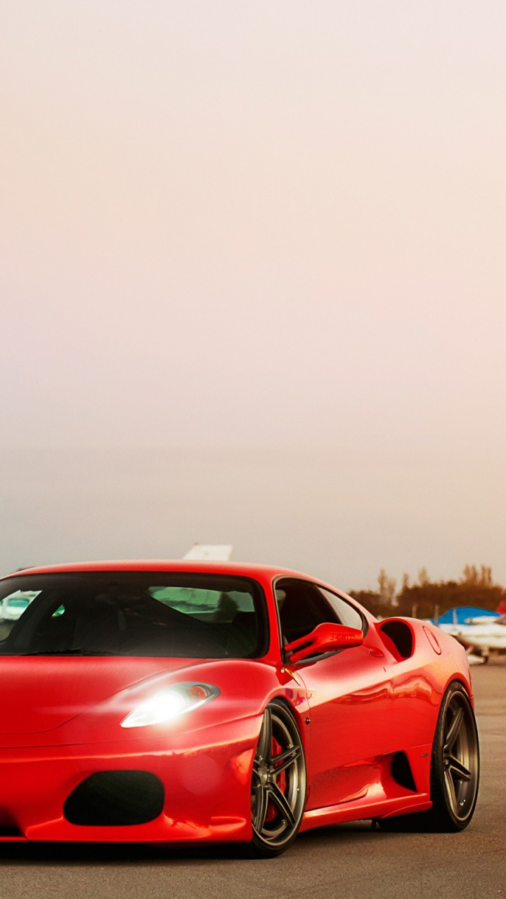 Make your device cooler and more beautiful. 720x1280 Ferrari F430 Airport Galaxy S3 Wallpaper