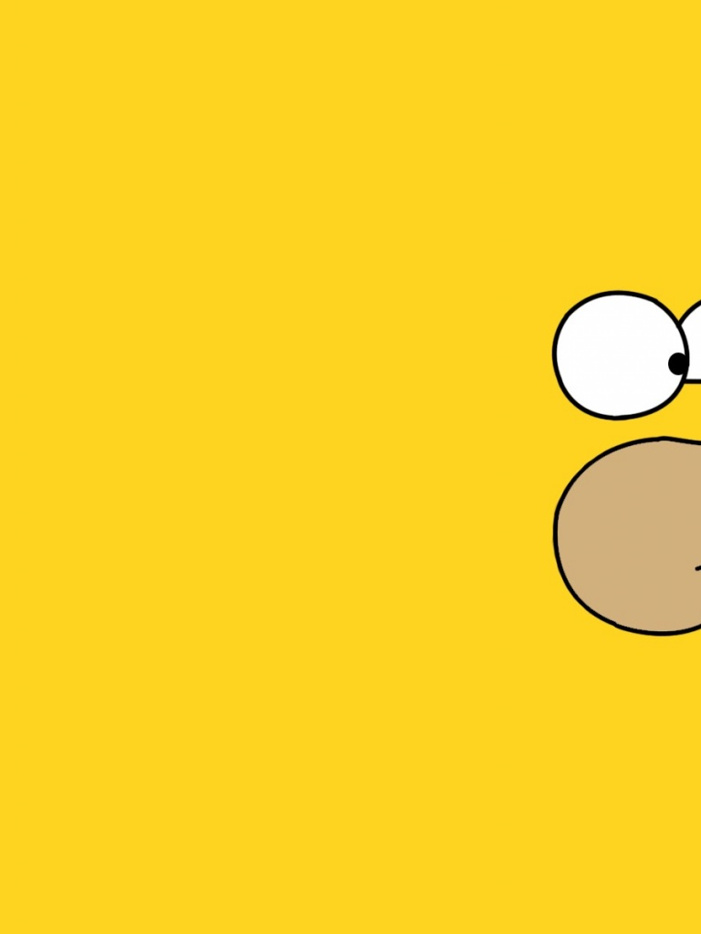 Homer Simpson Desktop Background