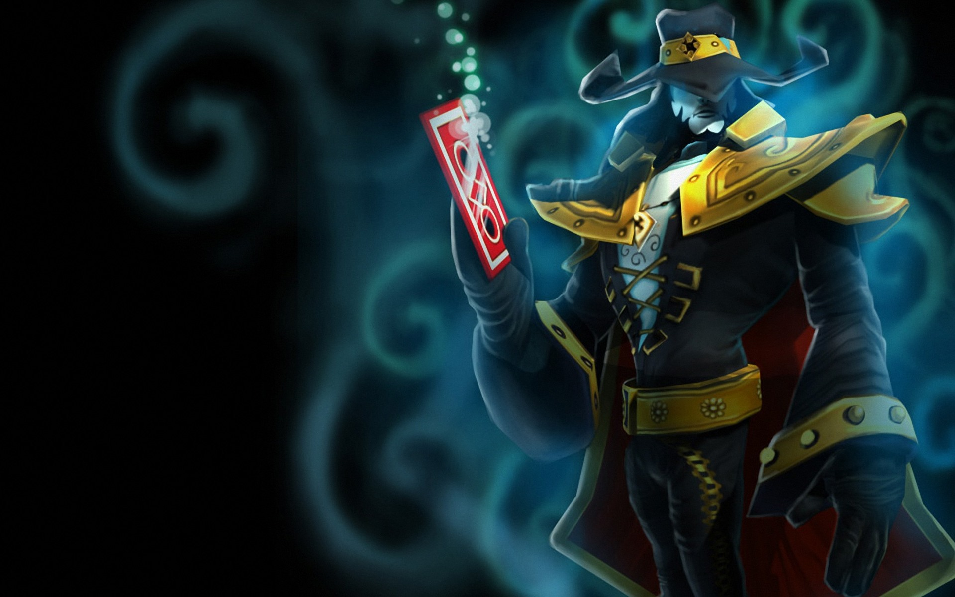 1920x1200 League of Legends Twisted Fate desktop PC and Mac wallpaper