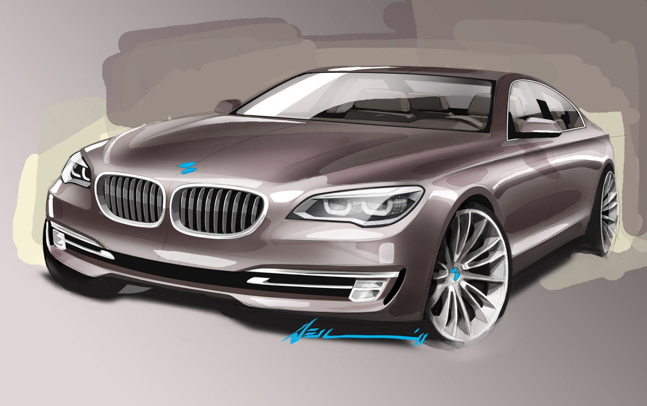 We check out the updates on bmw's sedans, coupes, and convertibles. 2012 Bmw 7 Series Design Sketch Wallpapers 2012 Bmw 7 Series Design Sketch Stock Photos