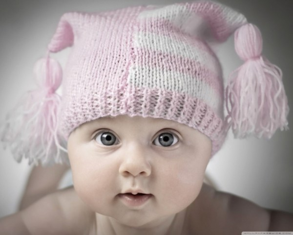 Adorable Little Baby 4K HD Desktop Wallpaper for • Tablet ...
