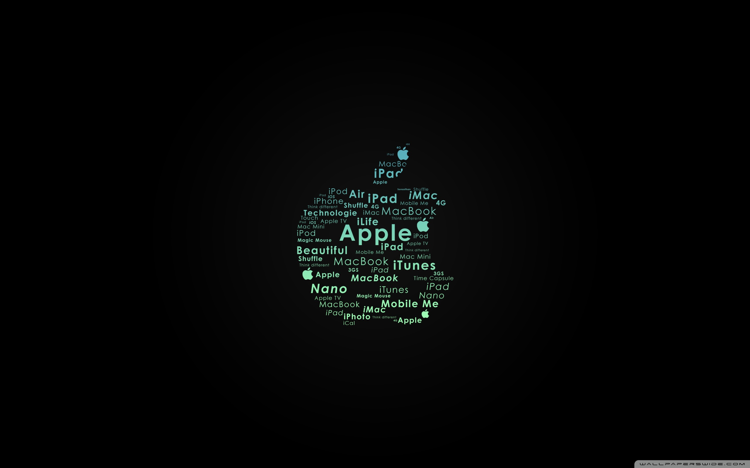 apple logo typography ❤ 4k hd desktop wallpaper for 4k ultra hd tv