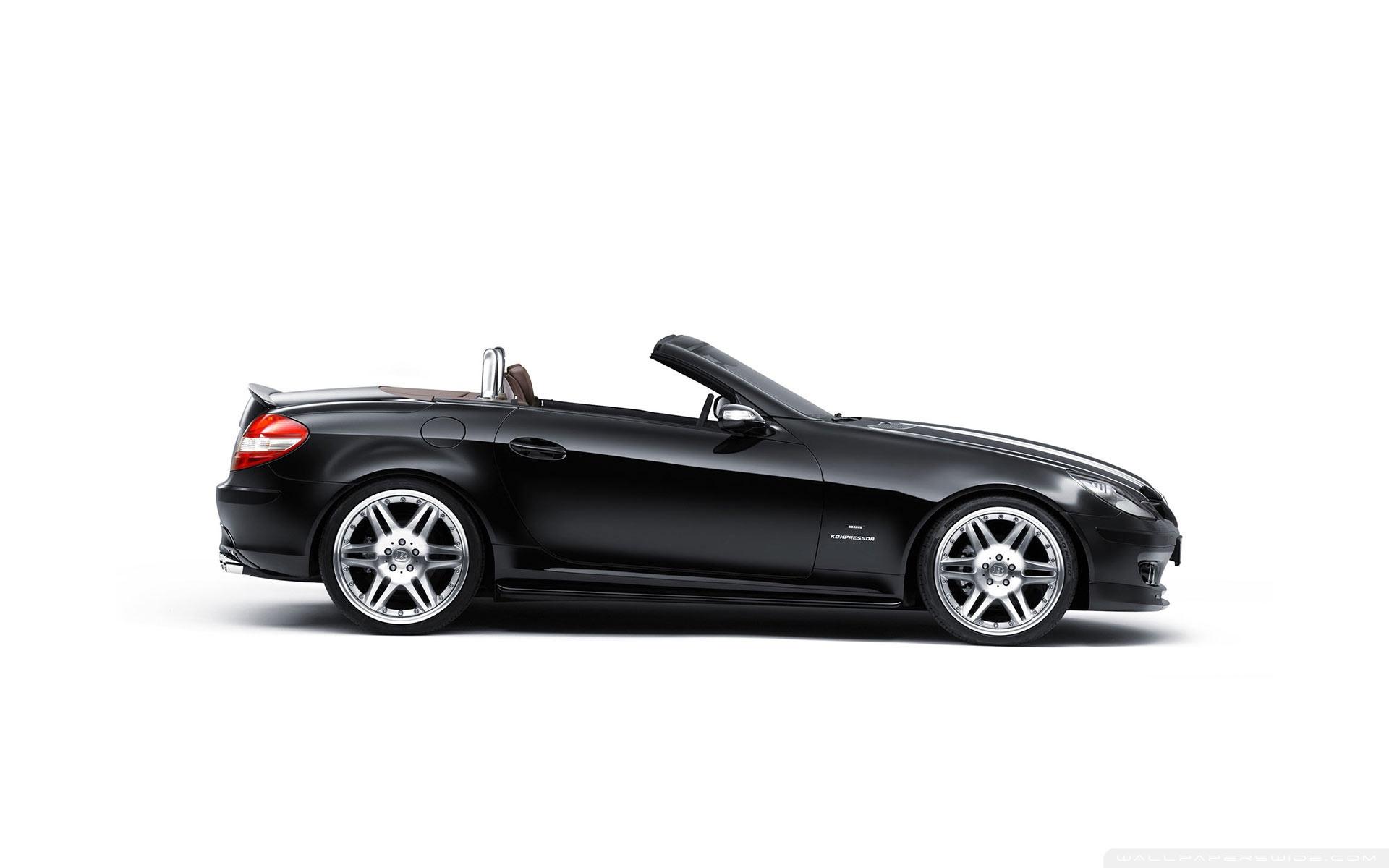 black mercedes cabriolet ❤ uhd desktop wallpaper for ultra hd 4k
