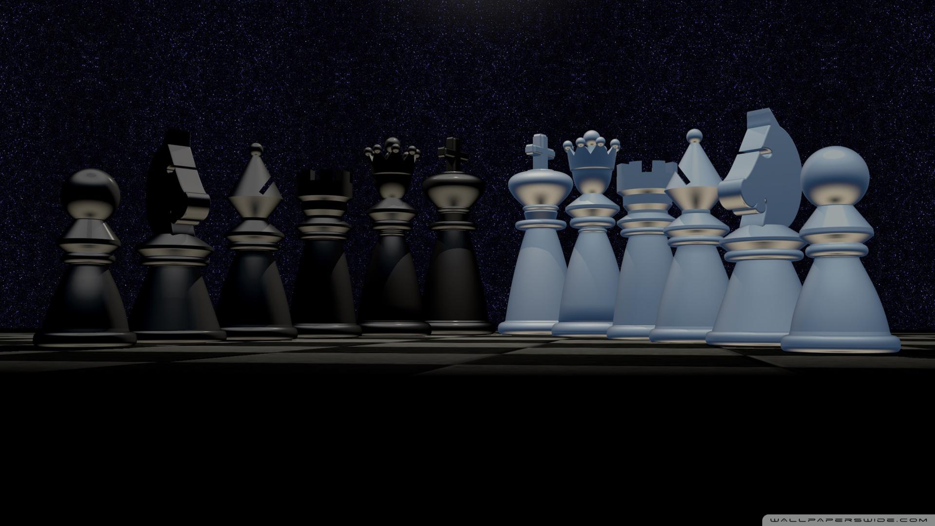Chess Pieces 4K HD Desktop Wallpaper For 4K Ultra HD TV
