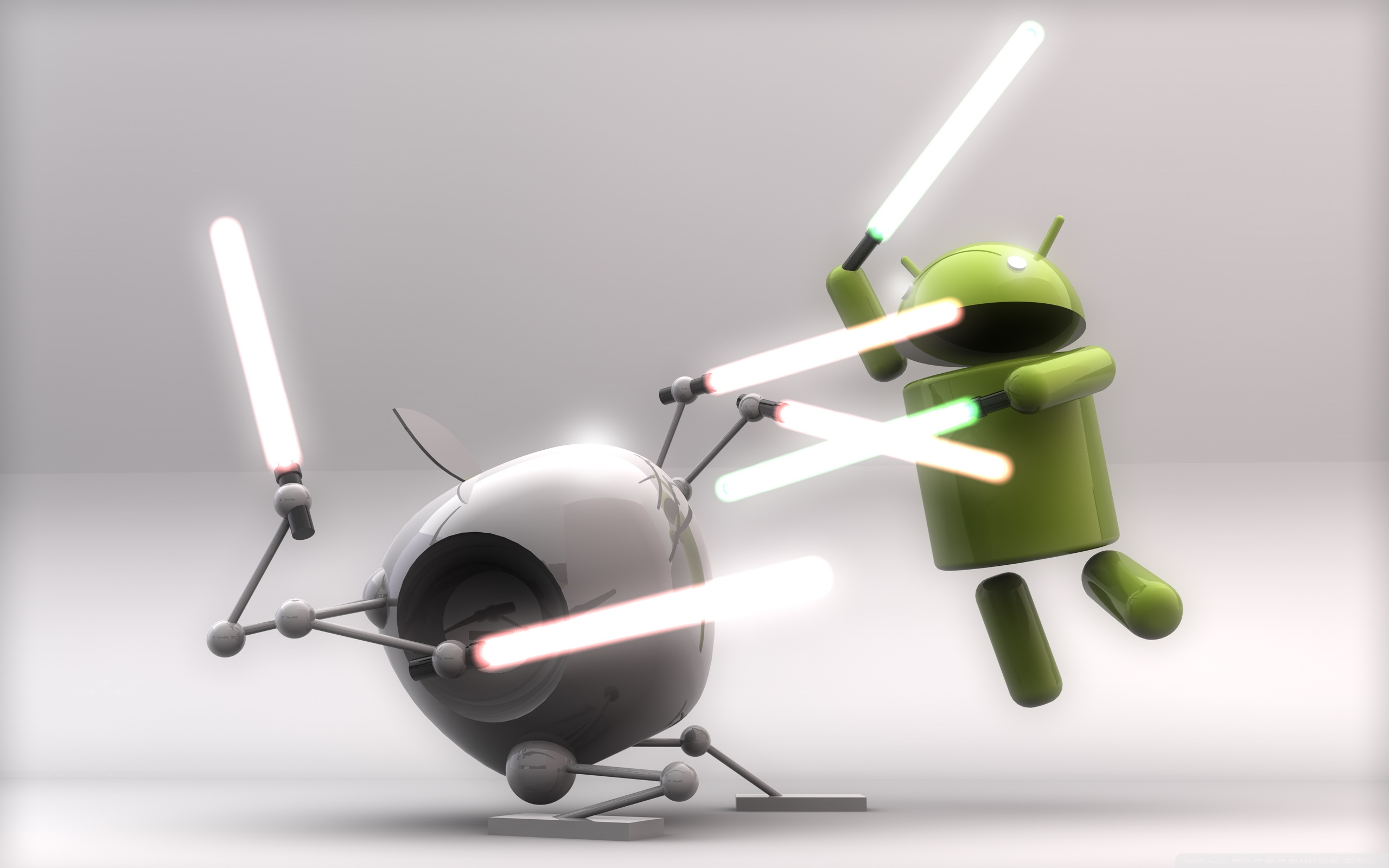 Funny Android        4K HD Desktop Wallpaper for Wide