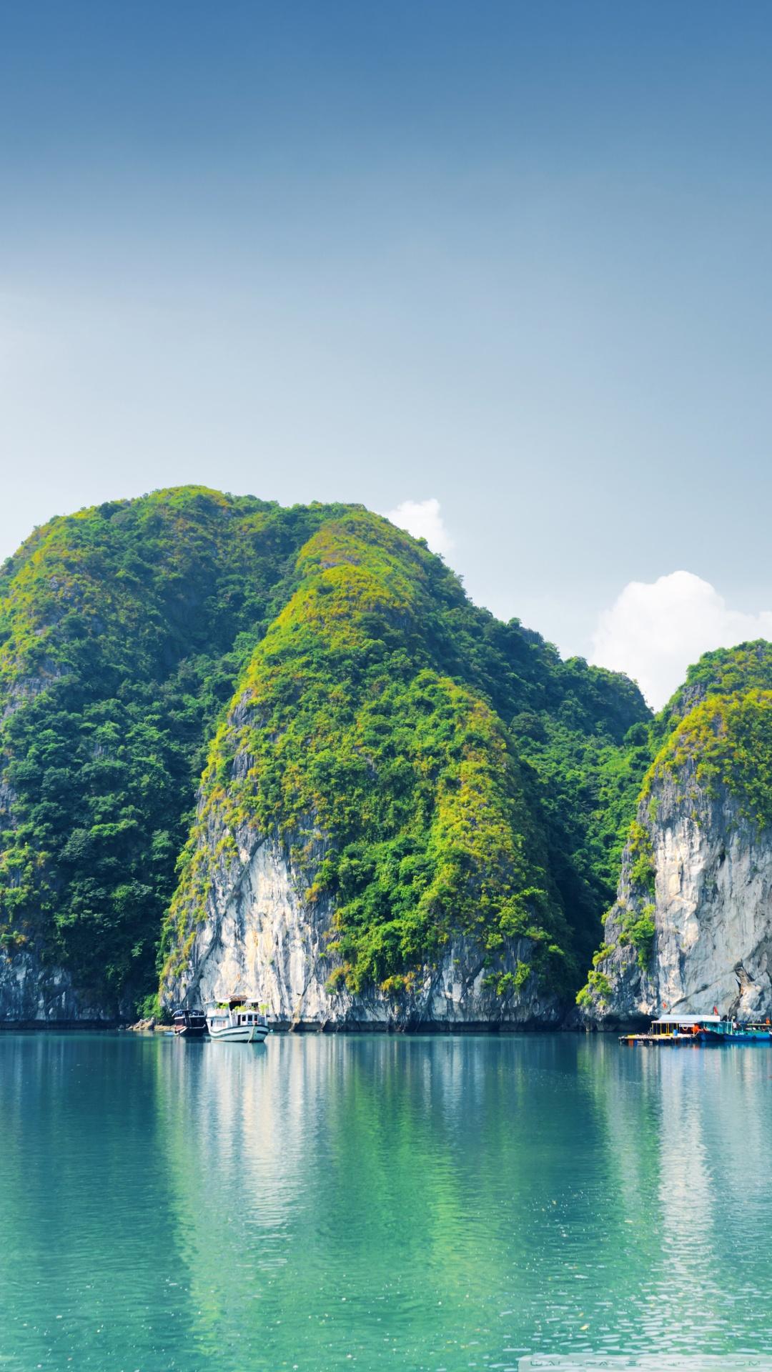 Ha Long Bay Vietnam Ultra Hd Desktop Background Wallpaper