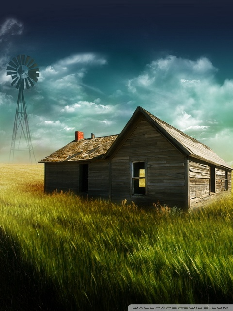 Old Farmhouse 4k Hd Desktop Wallpaper For 4k Ultra Hd Tv