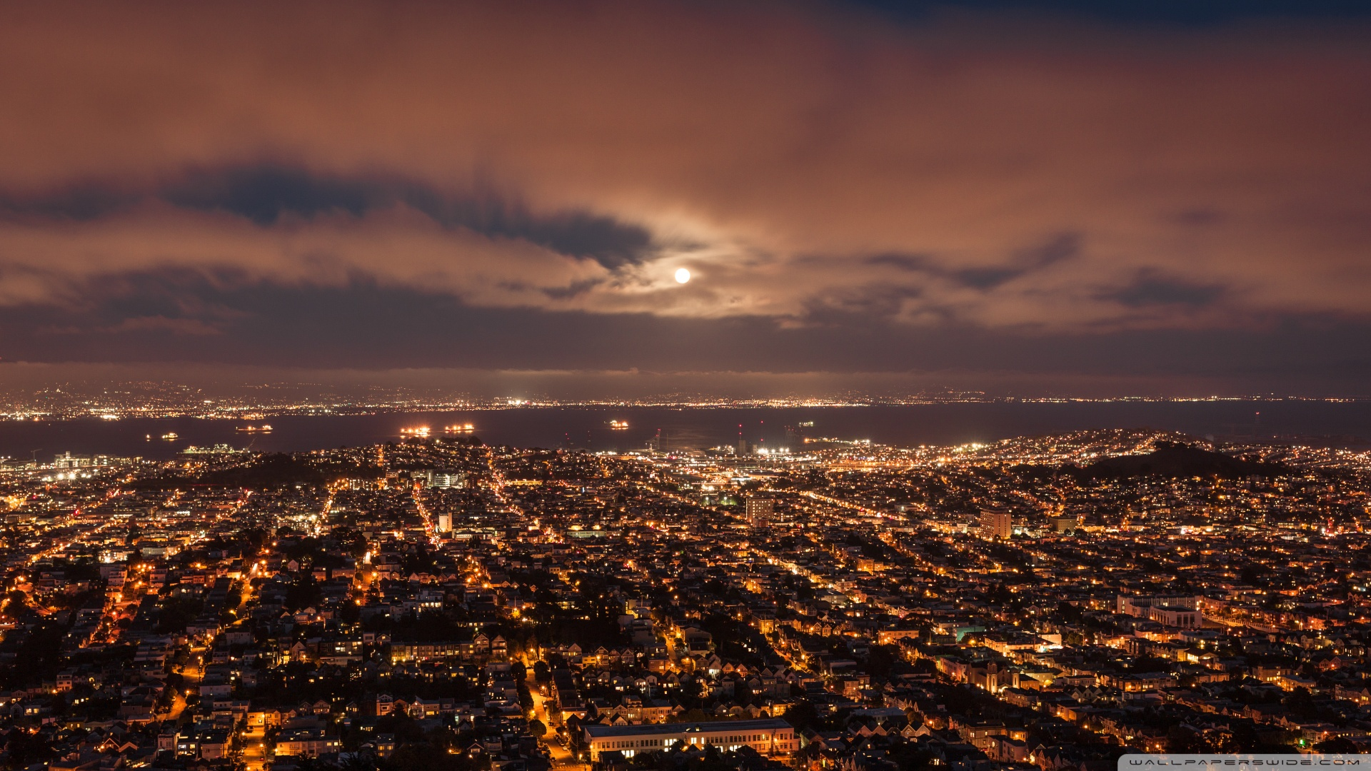 San Francisco Panorama 4K HD Desktop Wallpaper For 4K