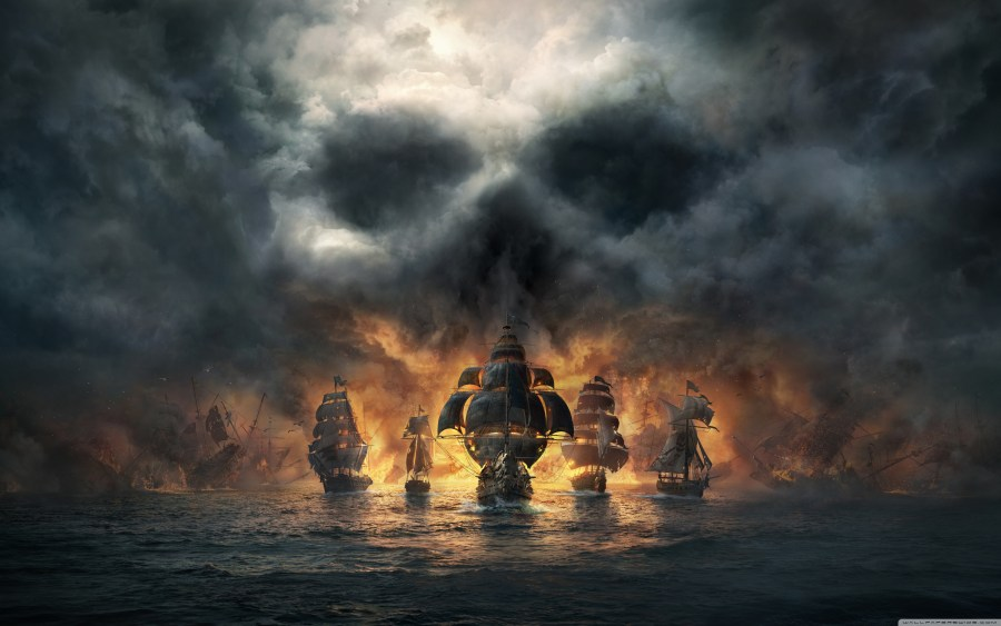 Skull and Bones 2018 Video Game        4K HD Desktop Wallpaper for     Wide 16 10