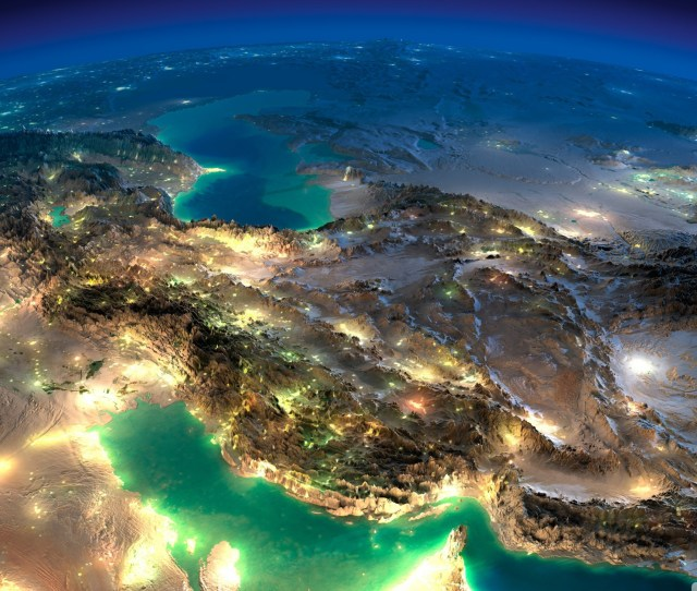 Very Nice Satellite Images Of Iran Hd Wide Wallpaper For K Uhd Widescreen Desktop Smartphone