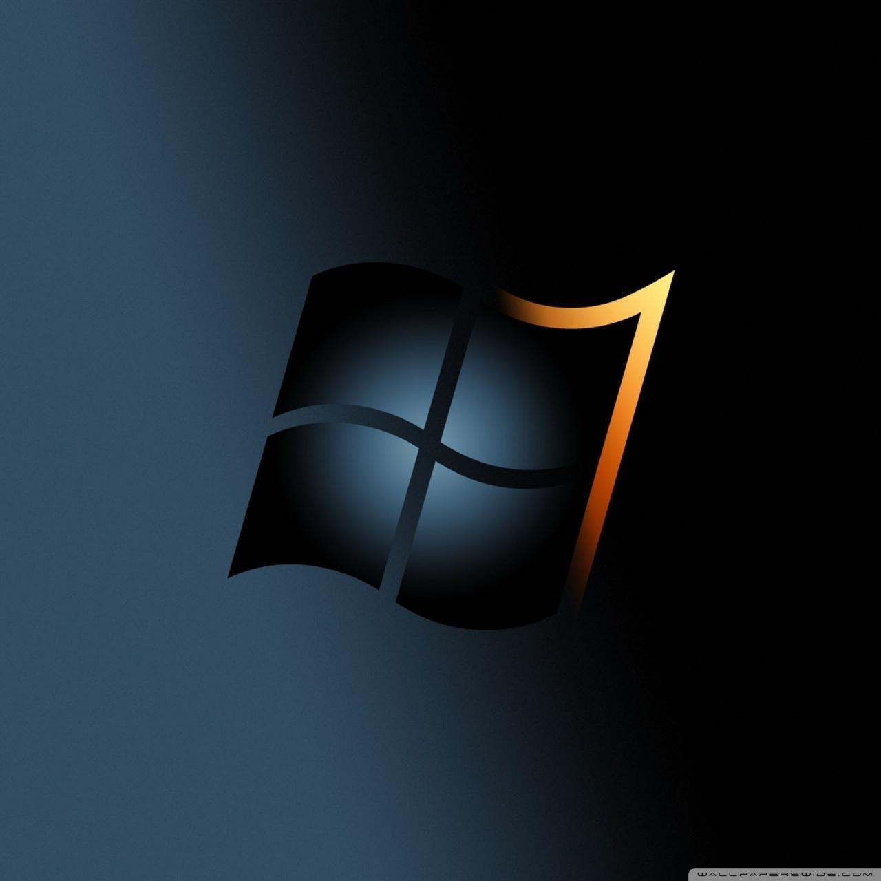 windows 7 dark ❤ uhd desktop wallpaper for ultra hd 4k 8k