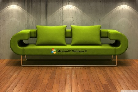Windows 8 3D Couch        4K HD Desktop Wallpaper for 4K Ultra HD TV     Standard