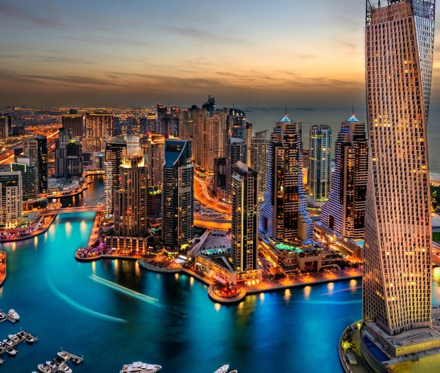 3840x2160 Hd Wallpaper 3840a 2160 Dubai Uae Buildings Skyscrapers Night 4k