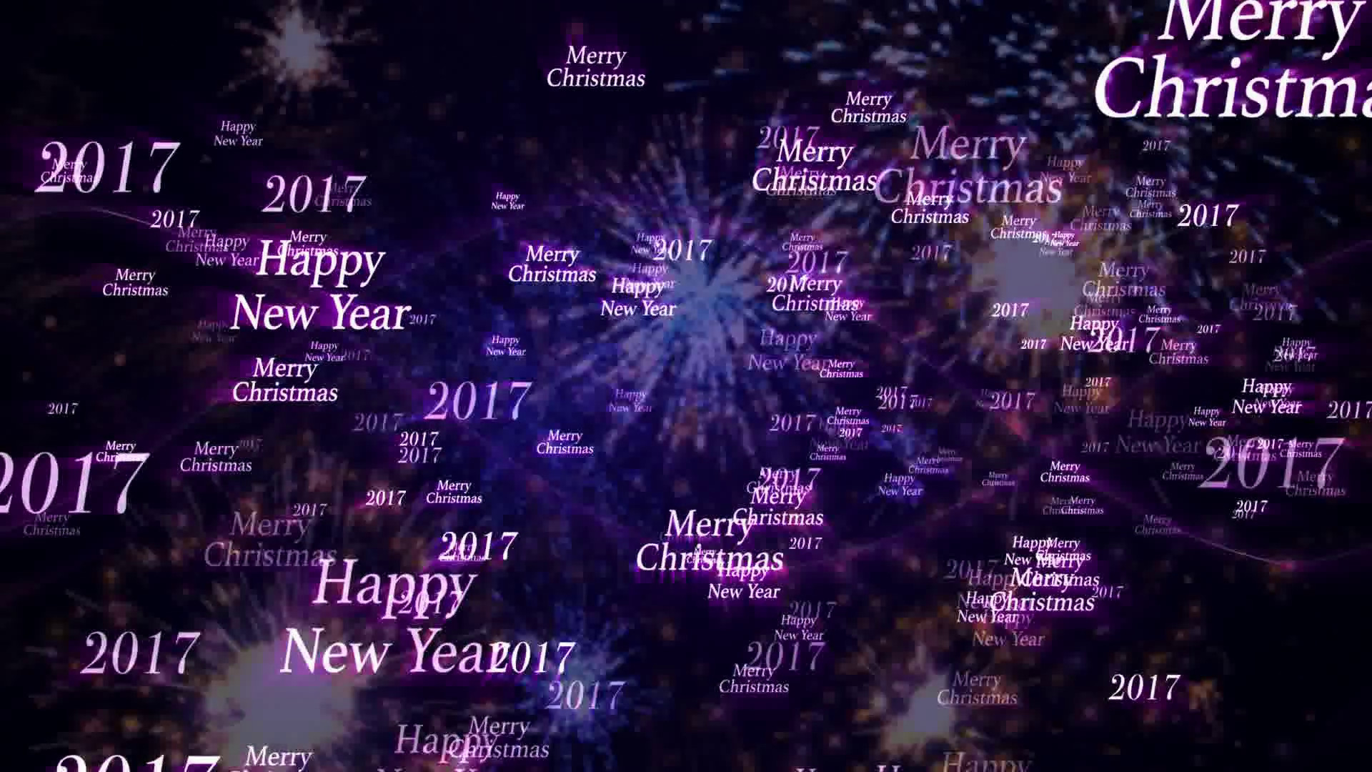 motion new year screensavers