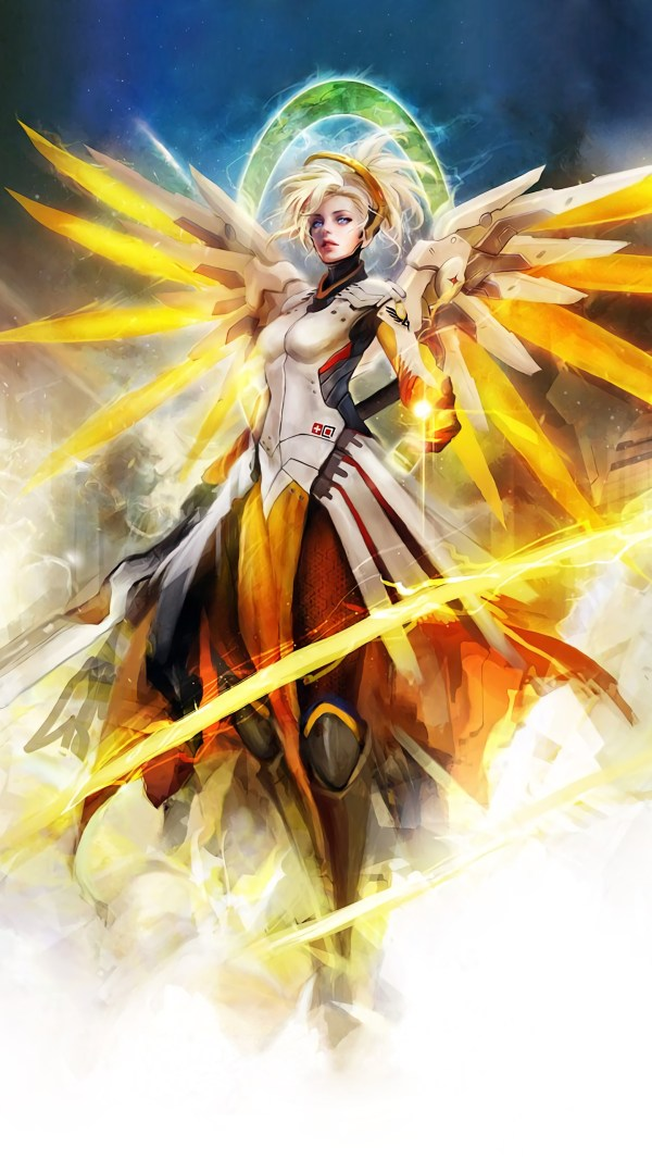 Overwatch Mercy wallpaper ·① Download free beautiful ...