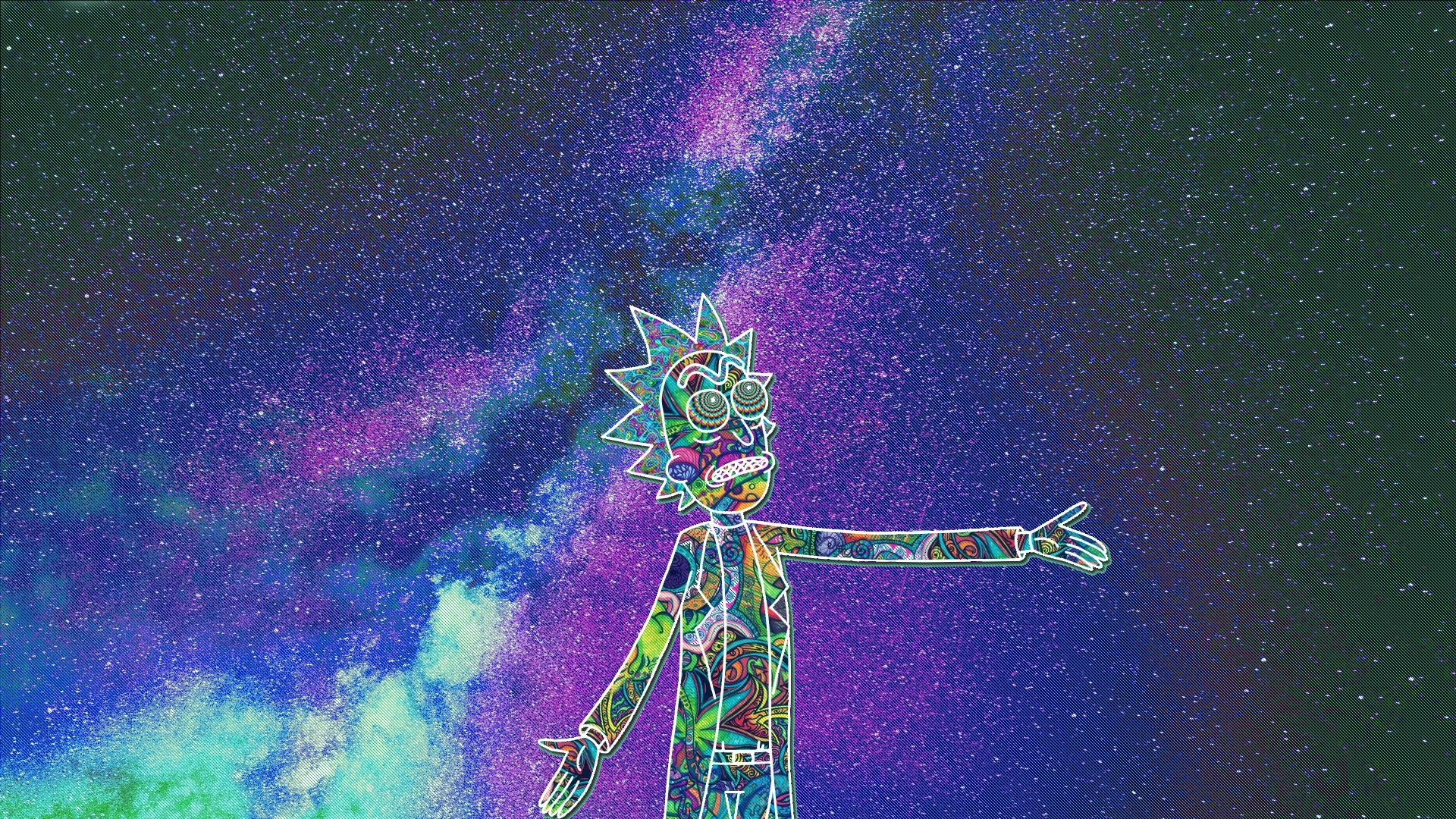 Iphone live wallpaper rick and morty