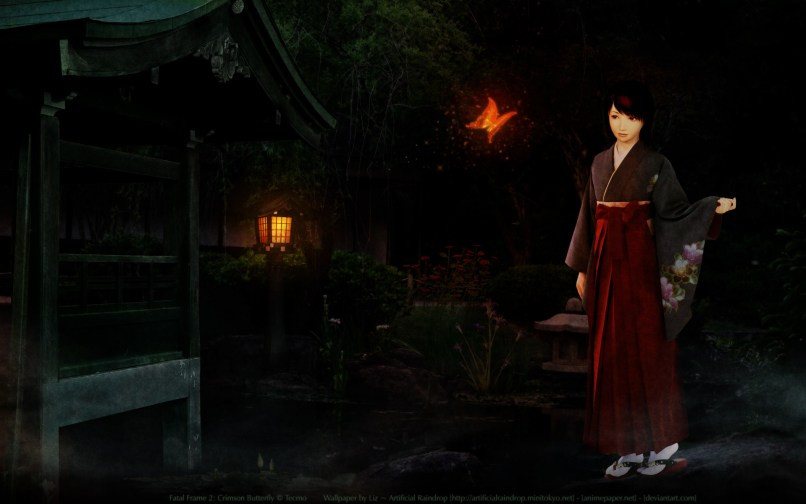 Colorful Fatal Frame 2 Crimson Butterfly Walkthrough Picture ...