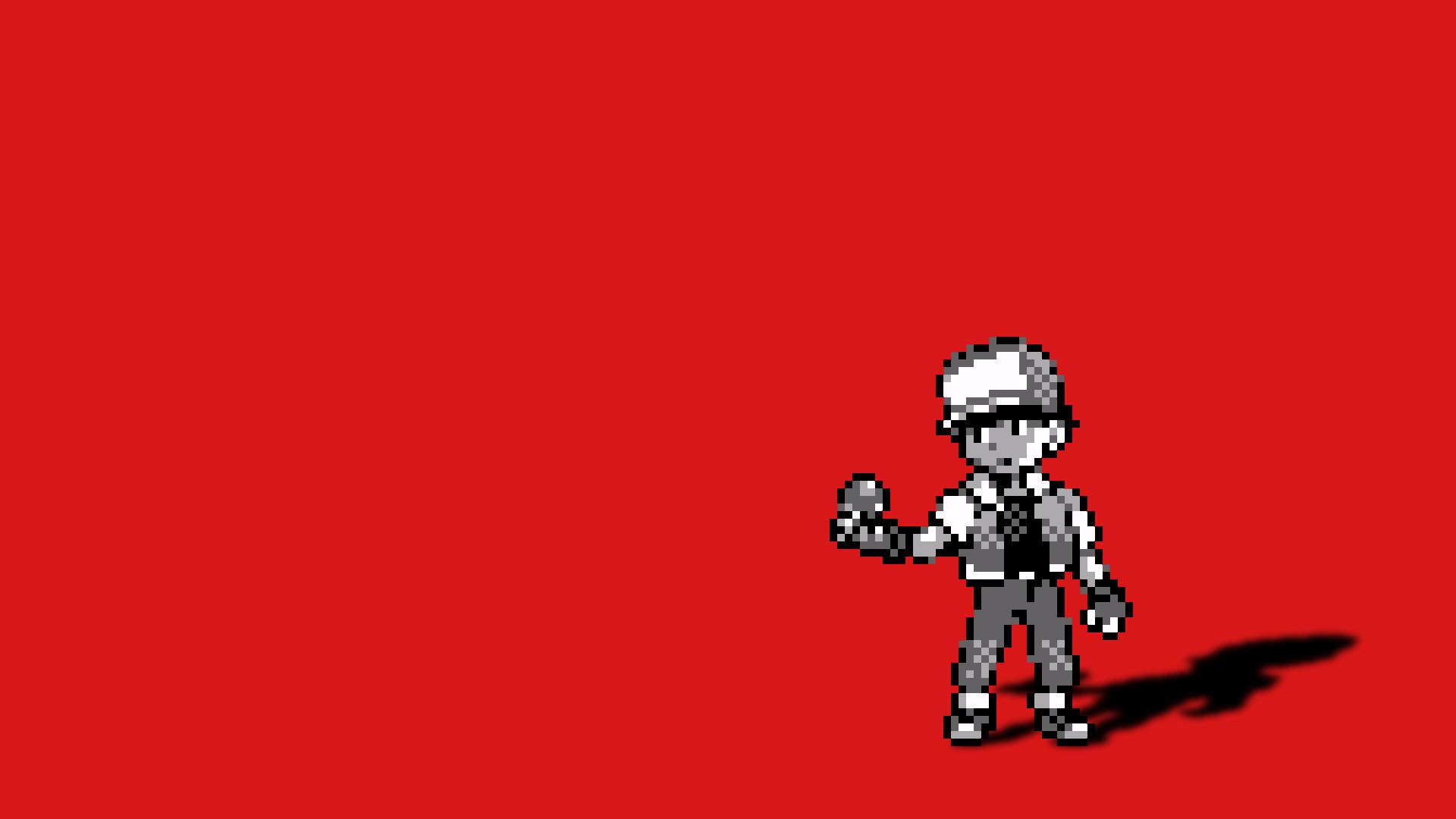 Pokemon Red 1920 X 1080 Wallpaper