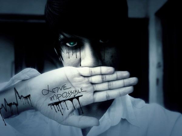 Emo Boy Background ·①