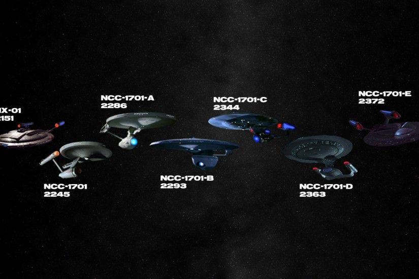 Star Trek Ships Wallpaper