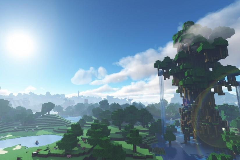Minecraft Shaders Background Download Free Full HD Wallpapers For Desktop Mobile Laptop In