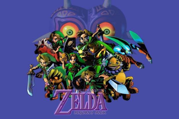 Legend Of Zelda Majora S Mask Wallpaper Iphone Shareimages Co