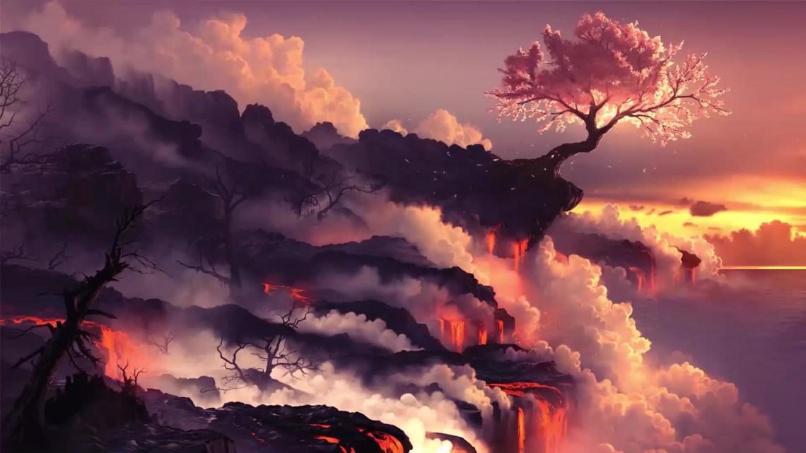 Sakura Tree Live Wallpaper Wallpaperwaifu