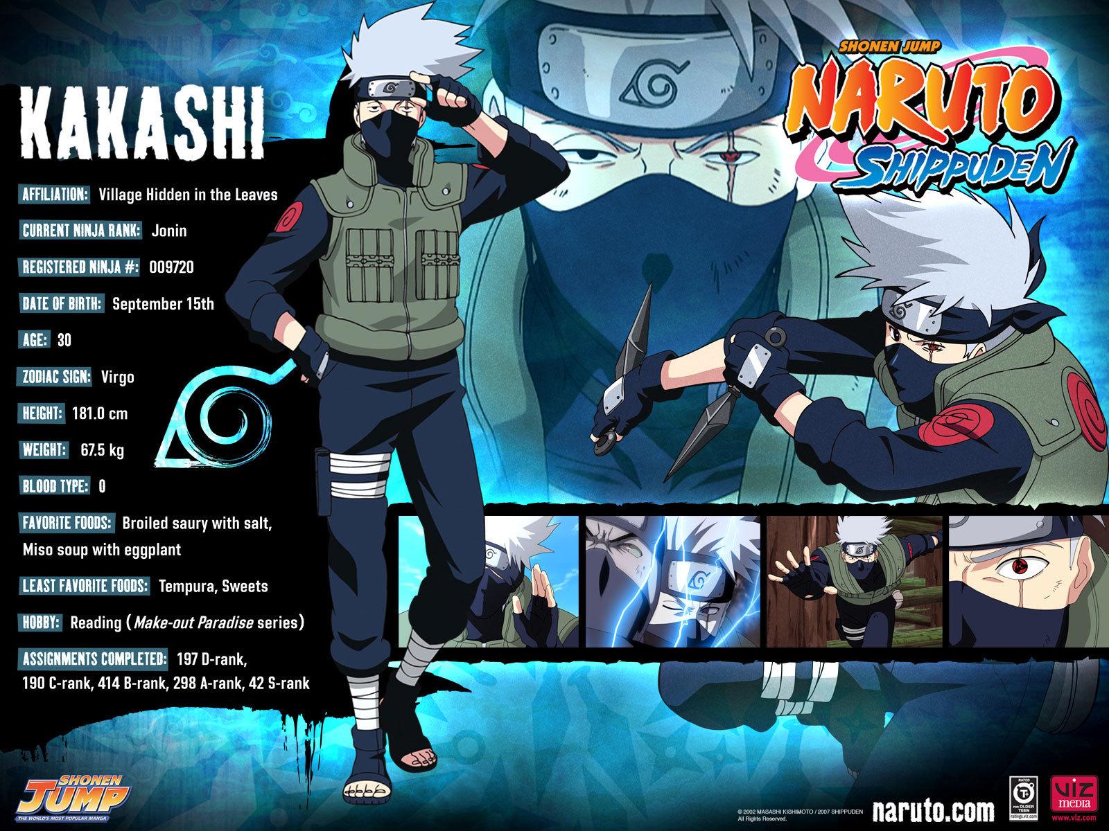 Kakashi Narutobase 2013