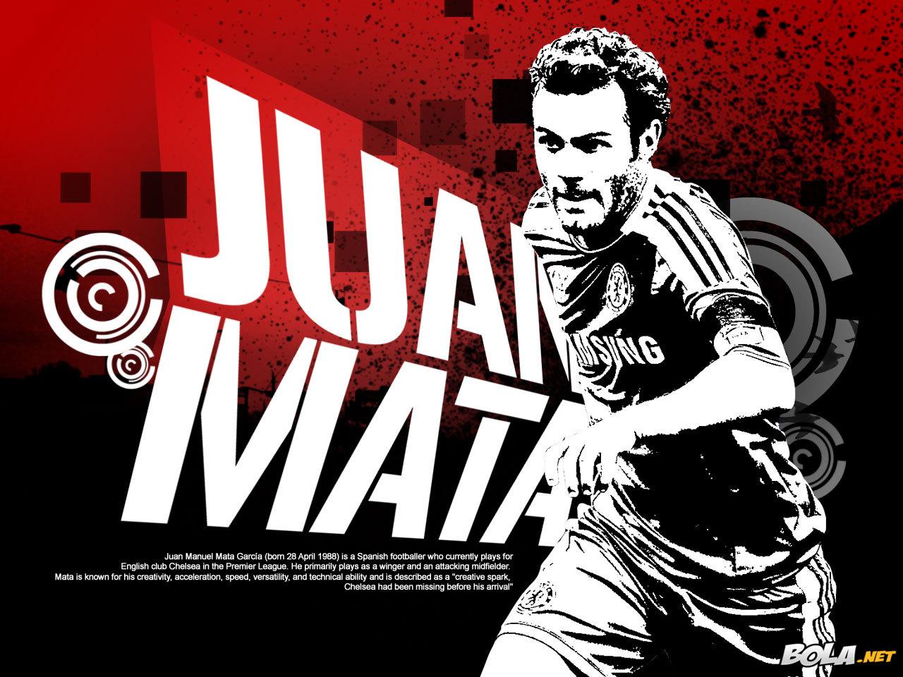 Juan Mata Chelsea Wallpaper