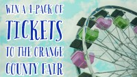 Win A 4-Pack Of Tickets To The Orange County Fair