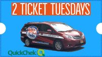 WALL Radio Presents 2 Ticket Tuesdays