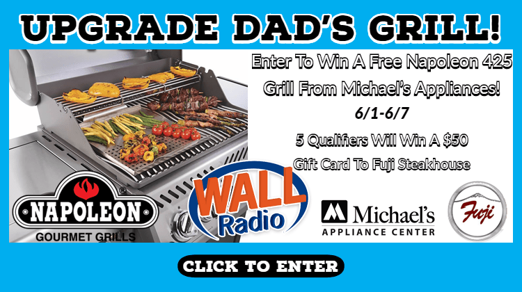 CONTEST: Win A Grill For Father's Day - WALL Radio