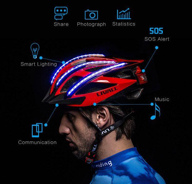 LIVALL-Bling-Smart-Helmet