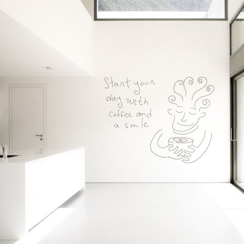 Whiteboardfärg Vit Vägg