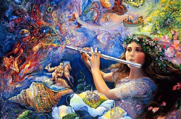 Beautiful Josephine Wall Fantasy Art Paintings