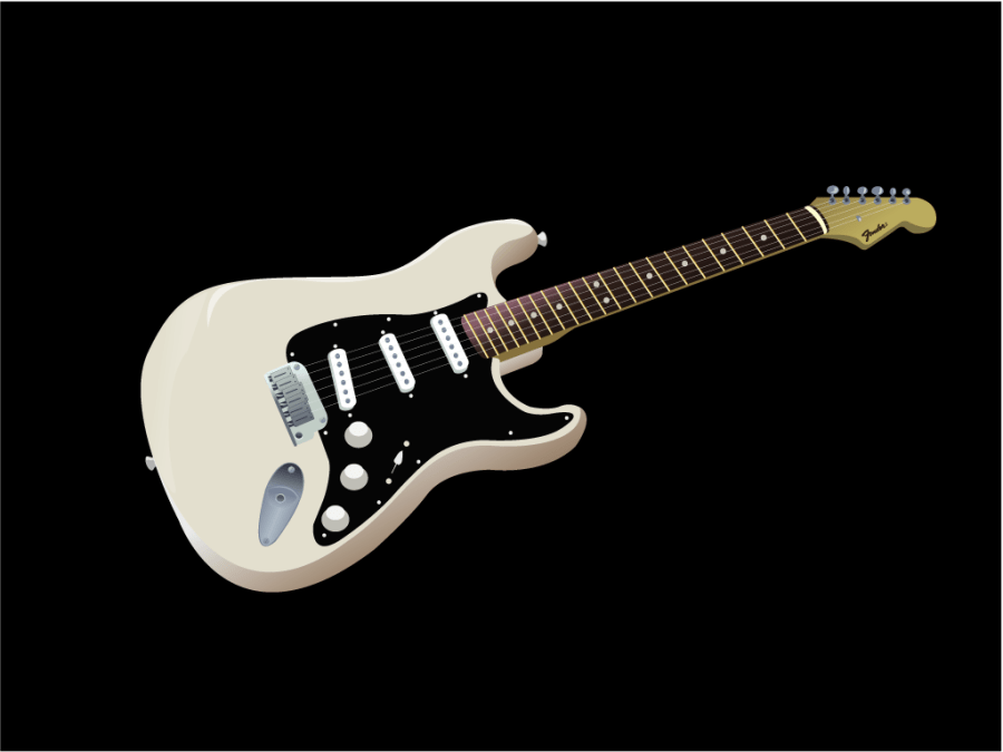 Guitar Drawing Tutorial Fender Stratocaster Wallpaper Gallery
