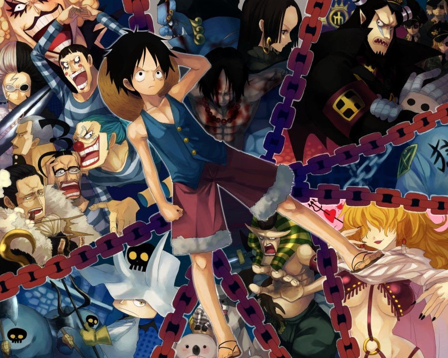 One Piece Anime Wallpaper HD Background Free